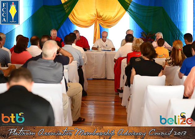Belize hosts Platinum Associate Membership Advisory Council (PAMAC) Cruise Confe