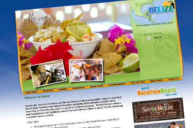 BTB Website - travelbelize.org