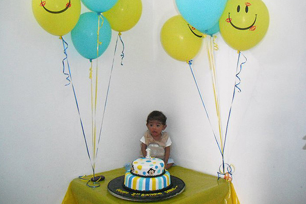 Baby Daniel turns 1!