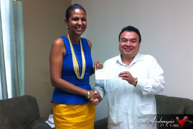 Belize Embassy in Washington Raises funds for the Inspiration Center