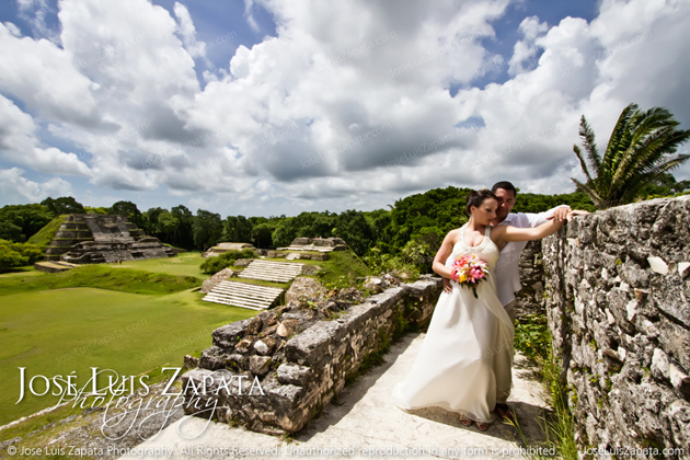 Destination Weddings at Belize's Maya Ruins