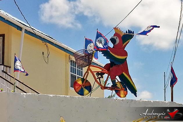September Celebrations Inspired Art, Belize Independence Day Celebrations