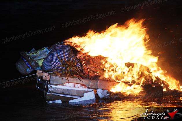 Don Juan Carnaval Gets Burned at Festival's End