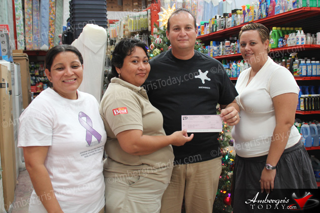 San Pedro Cancer Society Donation