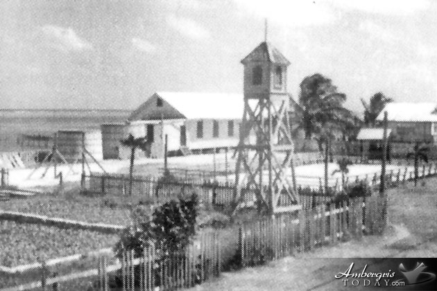 Roman Catholic Church, Village, Ice Shortage, Ambergris Caye