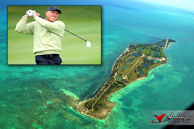 Pro Golfer Greg Norman to Trademark Caye Chapel Golf Course, at luxury resort