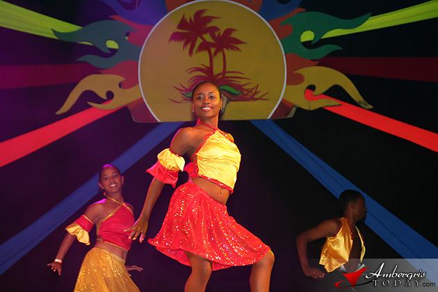 Belize Dance Company at Costa Maya Festival 2011