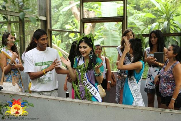Esthefany Maolyth Piñeda Perez, Miss Honduras Costa Maya at Iguana Project
