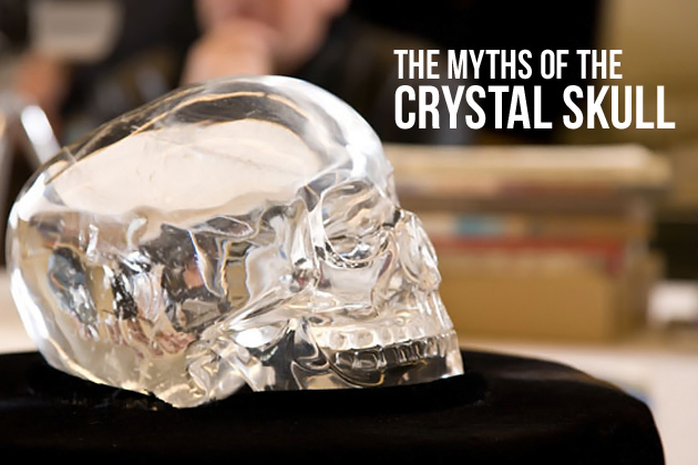 Crystal Skull found in a maya ruin named Lubantuun in Belize