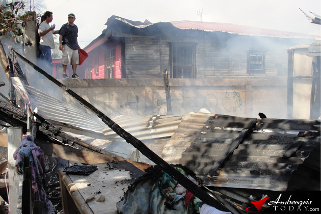 Fire Destroys Home in DFC Area