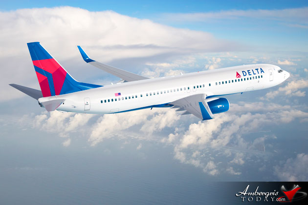 Delta Announces New Saturday Non-stop Service between Los Angeles and Belize
