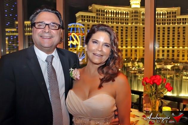 Dominic Amendolina and Danna Estephan Wed