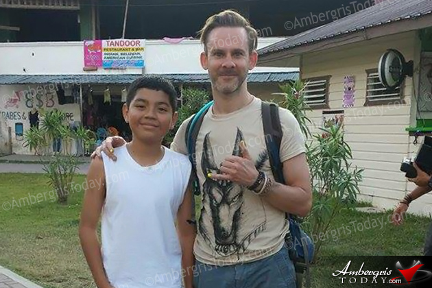 Celebrity Spotting - Lord of the Rings Actor Films in Belize