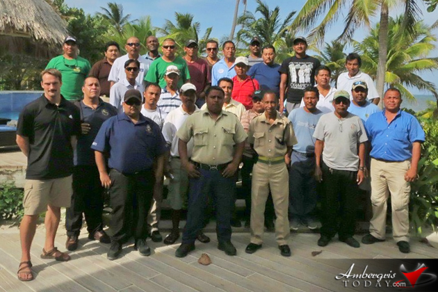 Security Guard Seminar held for North Ambergris Caye