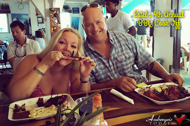 Estel's dine by the Sea holds 4th annual BBQ Rib Cook Off, San Pedro, Belize