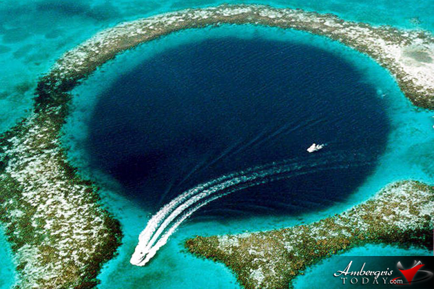 The Great Blue Hole, Makes Top 10 List of Diving Location In The World