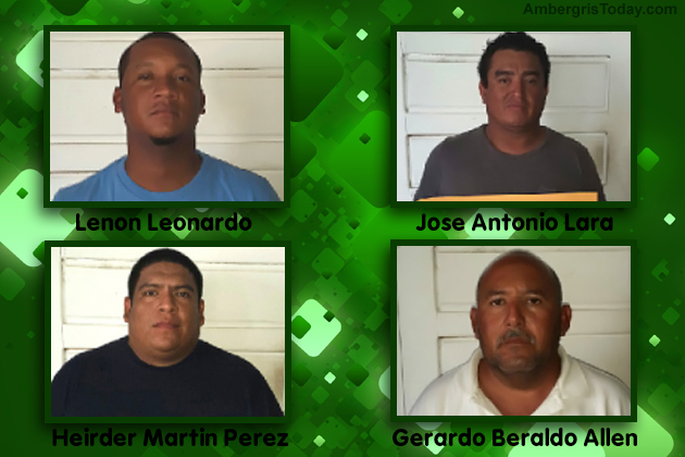 Four Caught in Major Heroin Drug Bust in Northern Belize