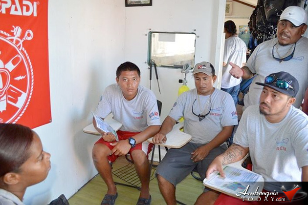 Seminar Island Tour Guides Freshen New Regulations Hol Chan Marine Reserve