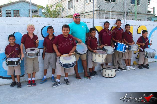 Isla Bonita Elementary School Marching Band