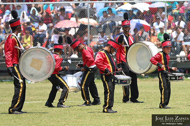 Isla Bonita All Star Marching Band Shines at Belize Bandfest