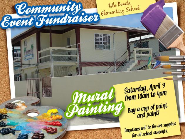Isla Bonita Elementary School Mural Painting