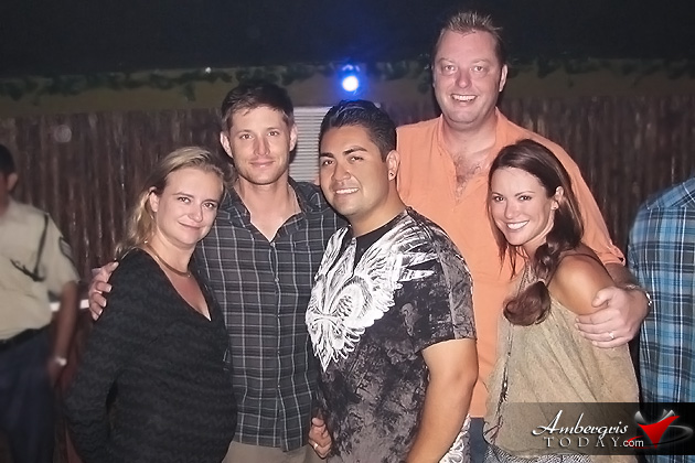 Gerry Badillo with Jensen Ackles & Danneel Harris & Sandra and Jan van Noord own