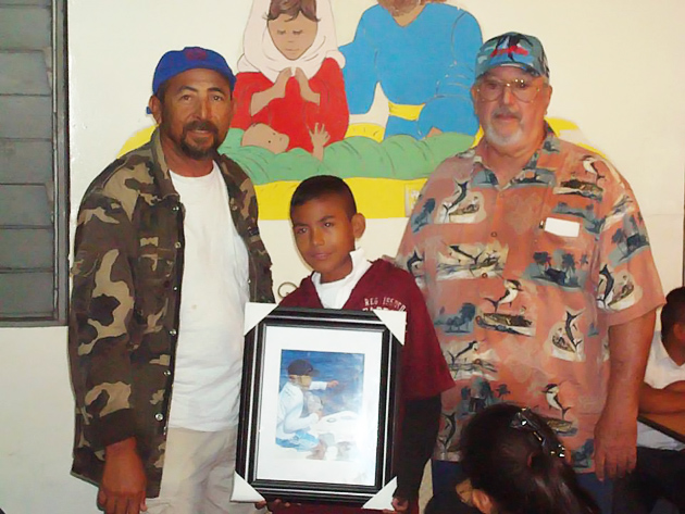 San Pedro Junior Angler Receives International Award