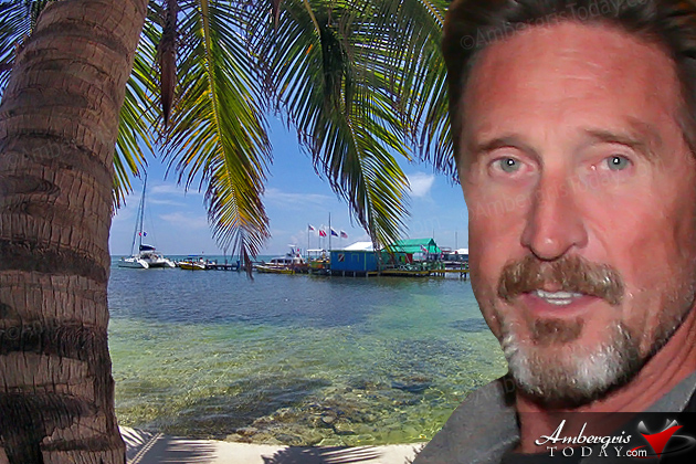 John McAfee wanted for questioning in murder case in San Pedro, Belize