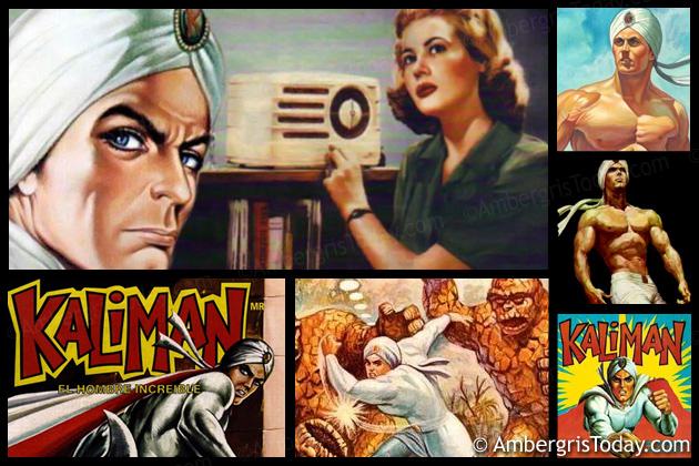 Kaliman El Hombre Increible -Radio Novelas listened in San Pedro, Ambergris Caye