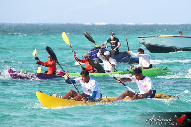 San Pedro, Belize Lagoon Reef Eco Challenge Kayak Race
