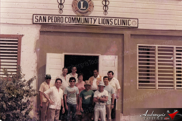 The Building of the San Pedro Lion's Clinic