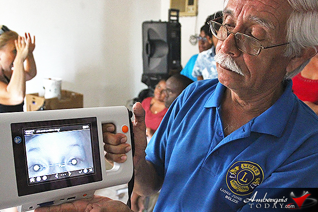 Contrywide Eye Screening in effect thanks to Lions Club in Belize