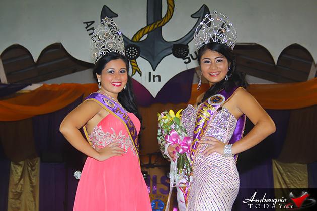 Arlethe Lima Crowned Miss San Pedro Lions 2013-2014