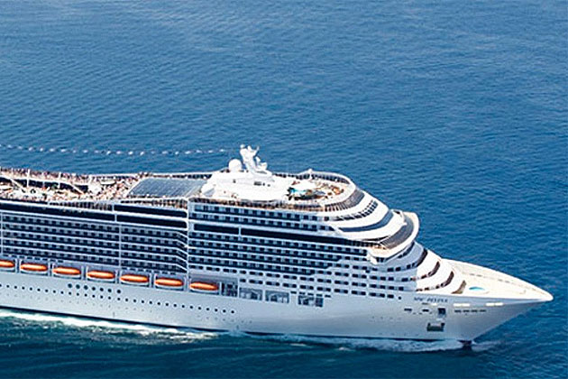 Belize Welcomes Newest Cruise Line To MSC Divina Ambergris Today - Msc divina cruise