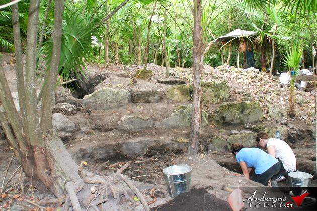 Marco Gonzalez Maya Site, San Pedro Ambergris Caye, Belize
