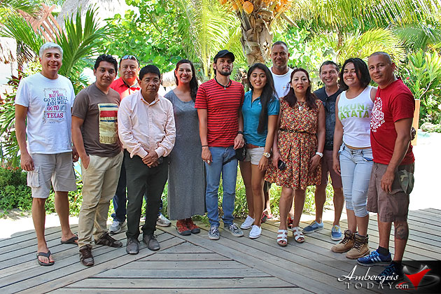 Belize Embassy in Mexico Boosting Tourism, Media Travel Agency Fam Trip