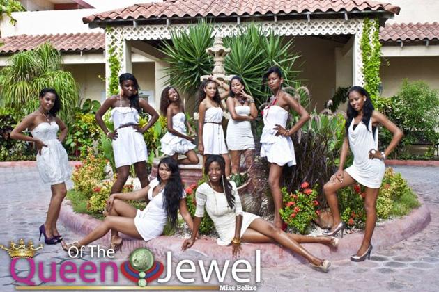 Miss Belize Delegates visit San Pedro