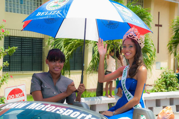 Miss Earth Belize leaves for Nassau, Bahamas
