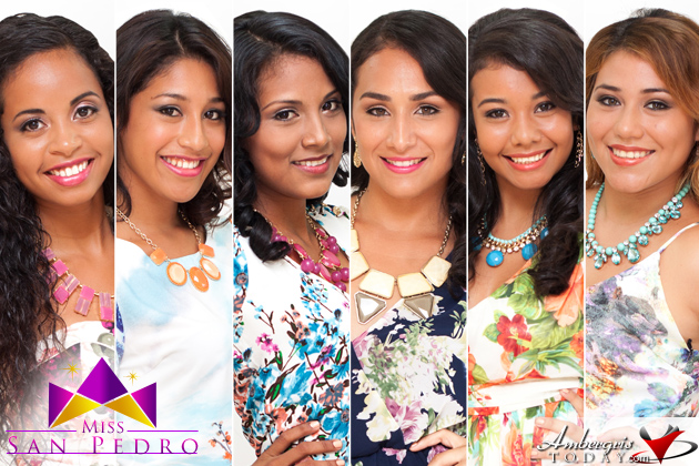 Six Beautiful Young Ladies to Vie for Miss San Pedro Title