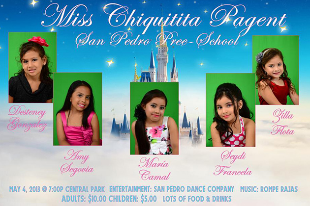 Miss Chiquitita 2013 Pageant Coming Up