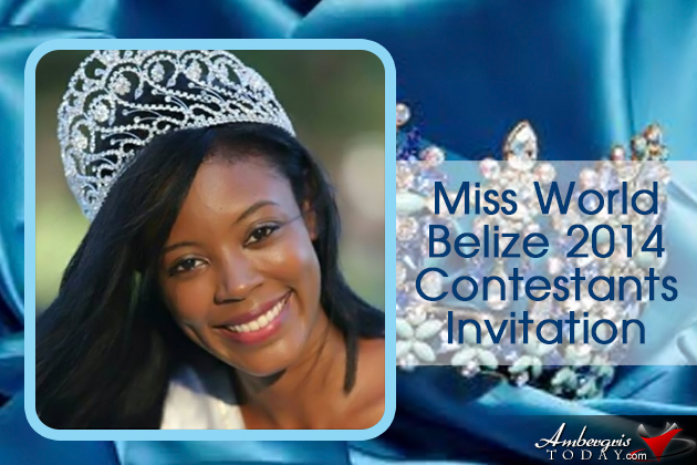 Applications Open for Miss World Belize 2014
