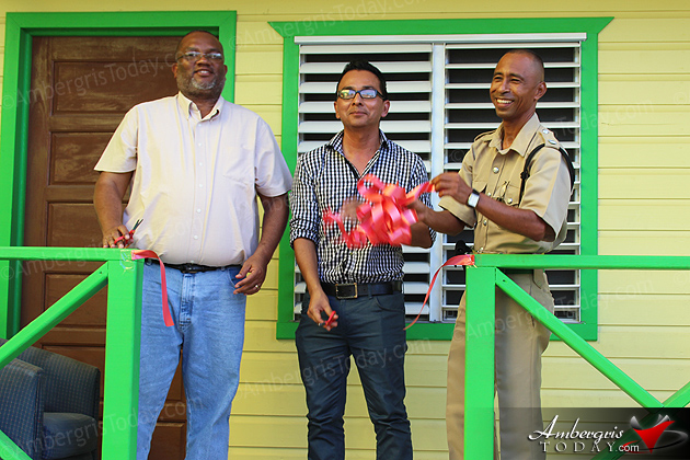 San Pedro Police Inaugurate New Living Headquarters
