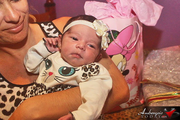 It's a Girl – Meet San Pedro's First Baby of 2016