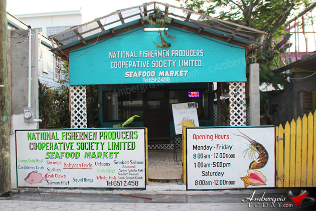 Seafood Market Opens in San Pedro, Ambergris Caye