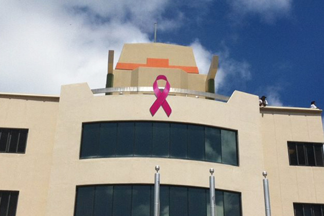 Paint Belize Pink for Breast Cancer Awareness Month!