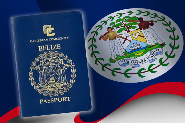 Caribbean Community Belizean Passport