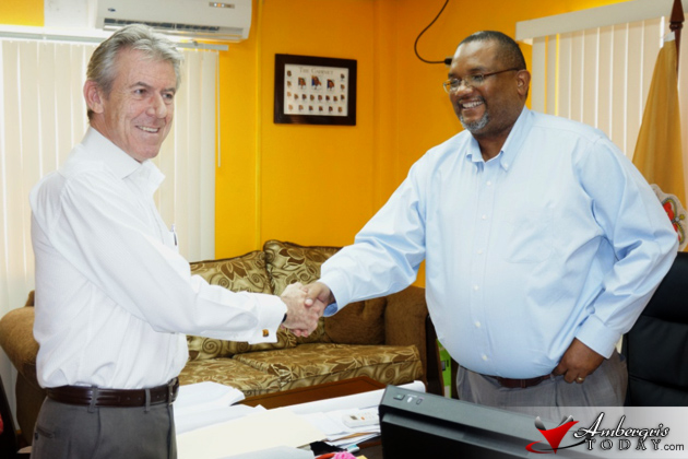 New British High Commissioner Makes Courtesy Call to Minister of National Securi