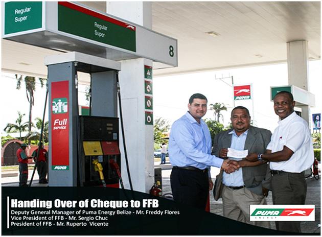 "Puma Donates To ""Belize Jaguars"""