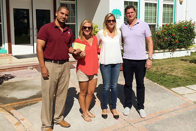 $1,500 Donated to Hope Heaven, San Pedro's First Childrens Home
