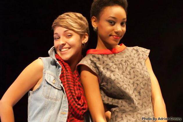 Rebecca Stirm and her model Abenah Gonzalez